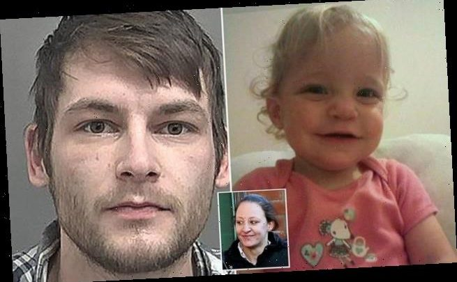 Murdered one-year-old Mia Gregson is pictured for the first time