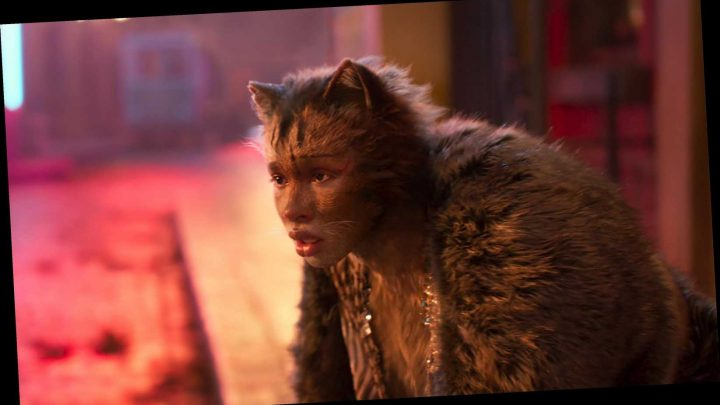 Cats movie responds to Woman Yelling at Cat meme