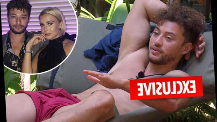 I'm A Celeb hunk Myles Stephenson insists he never cheated on ex Gabby Allen and she has 'overreacted' – The Sun