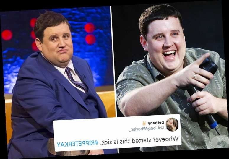 Peter Kay falls victim to cruel death hoax as #RIPPETERKAY trends on Twitter – The Sun
