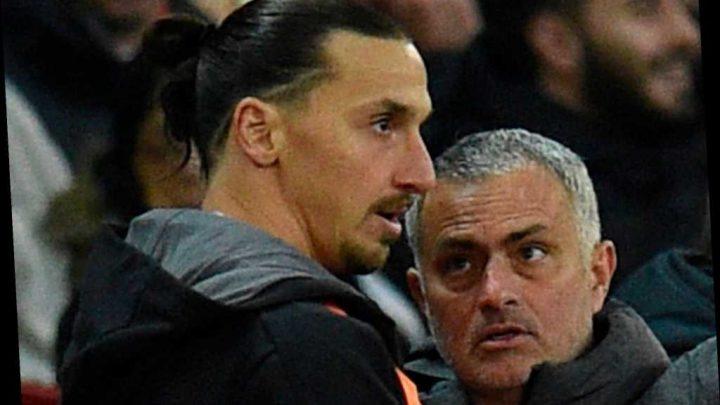 Jose Mourinho ready to sign ex-Man Utd striker Zlatan Ibrahimovic on free transfer in first deal as Tottenham boss – The Sun