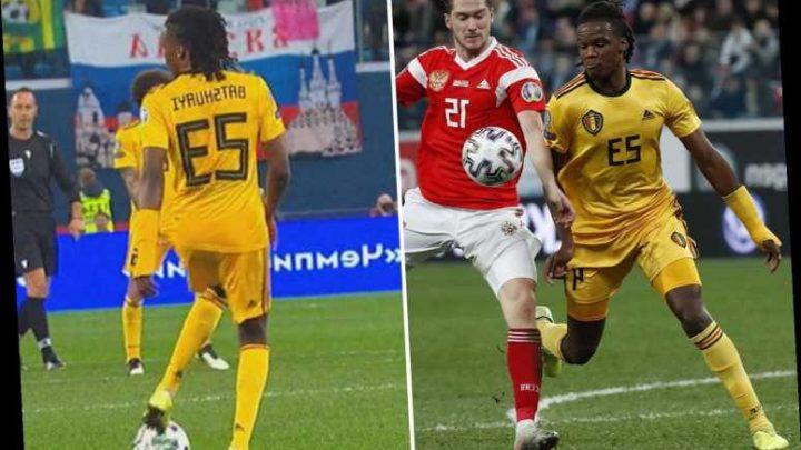 Boyata baffles Belgium fans as he accidentally wears Batshuayi's shirt in second half vs Russia – The Sun
