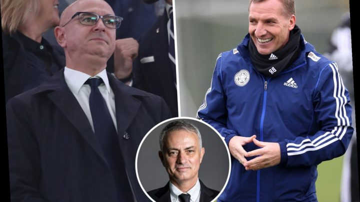 Spurs first choice was Brendan Rodgers NOT Jose Mourinho with Levy plotting Pochettino exit for month – The Sun