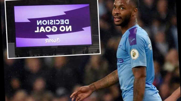 Raheem Sterling thinks he's 'cursed' as Manchester City ace has another goal ruled out in Chelsea win – The Sun