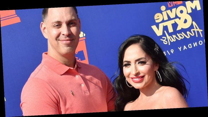 Jersey Shore's Angelina Pivarnick Marries Chris Langeira — See Wedding Photo with Costars!