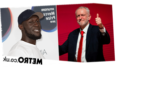 Jeremy Corbyn showers Stormzy with praise after rapper urges fans to vote