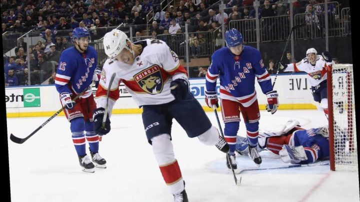 Rangers fall in wild shootout loss to Panthers