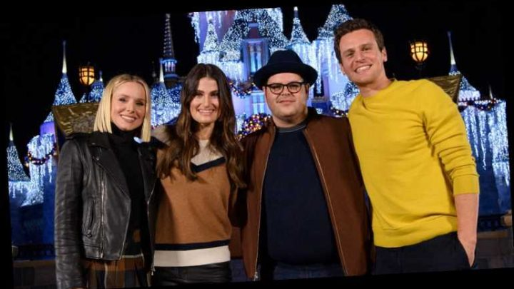 The Cast of 'Frozen 2′ Went to Disneyland Together!
