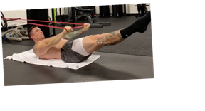 3 Hollow Body Band Moves That Will Carve Your Abs