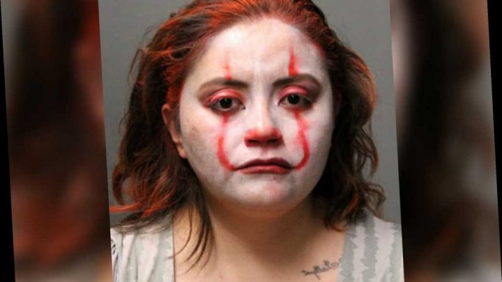 Chicago cop in 'Pennywise' makeup arrested for assaulting officer
