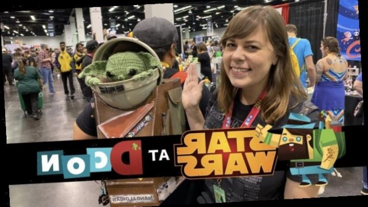 Video: In Search for Baby Yoda at DesignerCon 2019 – /Film