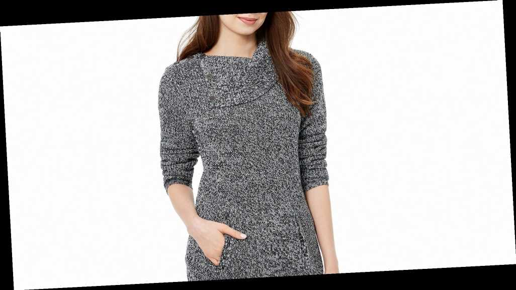 Over 100 Macy's Shoppers Love This Sweater-Sweatshirt Hybrid (55% Off!)