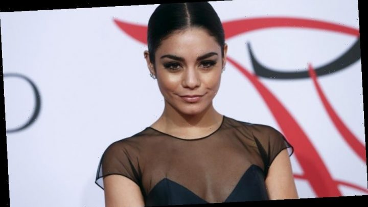Vanessa Hudgens shares sweet throwback photo of herself performing