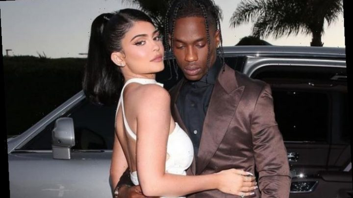 Kylie Jenner Spotted With Travis Scott at Palm Springs Casino