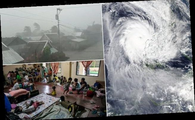 70,000 people flee to evacuation shelters to avoid Typhoon Kammuri