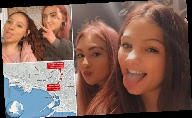 Desperate search for two missing girls, both 14