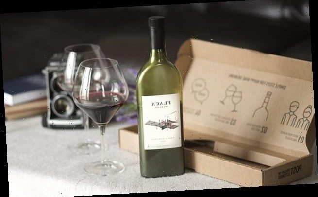 Wine company launches a FLAT bottle designed to fit through letterbox