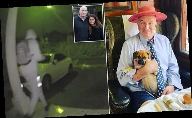 Fast Show's Simon Day shows CCTV of 'burglar' he says stole pet dog
