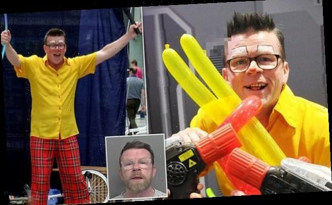 Clown 'Bobby Bubbles', 49, jailed for 14 years after raping child