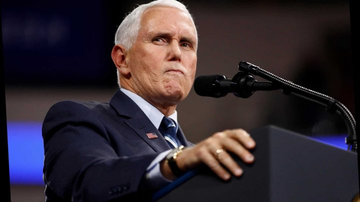 Supercut Shows Mike Pence Telling Same Lame Joke About Democrats Over And Over Again