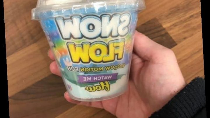 Morrisons is selling £1.25 fake snow that moves and shoppers are obsessed