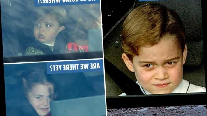 Kate Middleton and William take George, Charlotte and Louis to Queen's lunch – but not everyone is impressed!