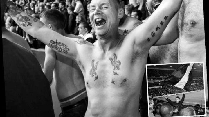 Spurs supporter gives candid view of a footie fan's life on and off the terraces with intimate black and white images – The Sun