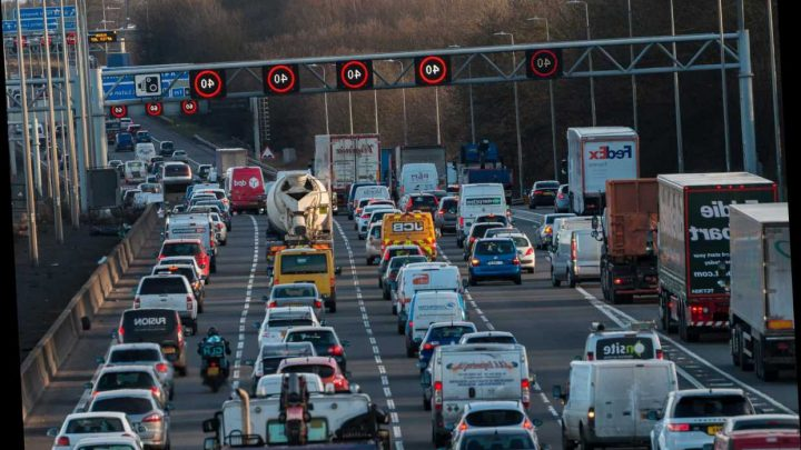 Brits face 12 days of Christmas travel CHAOS with 2,000 roadworks as 18 million people drive home on 'Frantic Friday' – The Sun