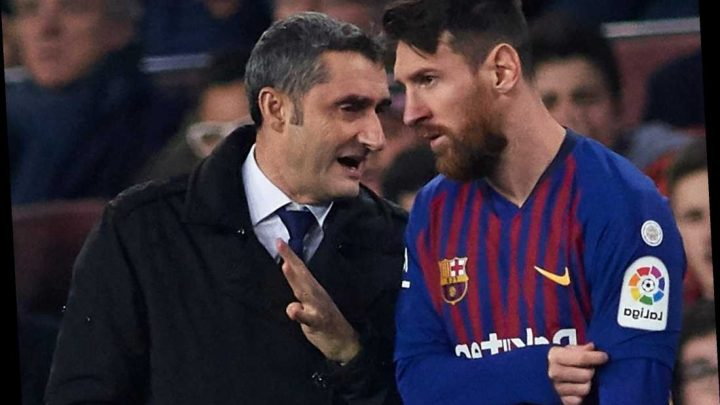 Lionel Messi retirement 'is in the air' says Barcelona boss Ernesto Valverde – The Sun