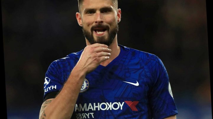 Inter Milan line up Chelsea' outcast Olivier Giroud in January transfer swoop as Lampard looks to bring in new names – The Sun