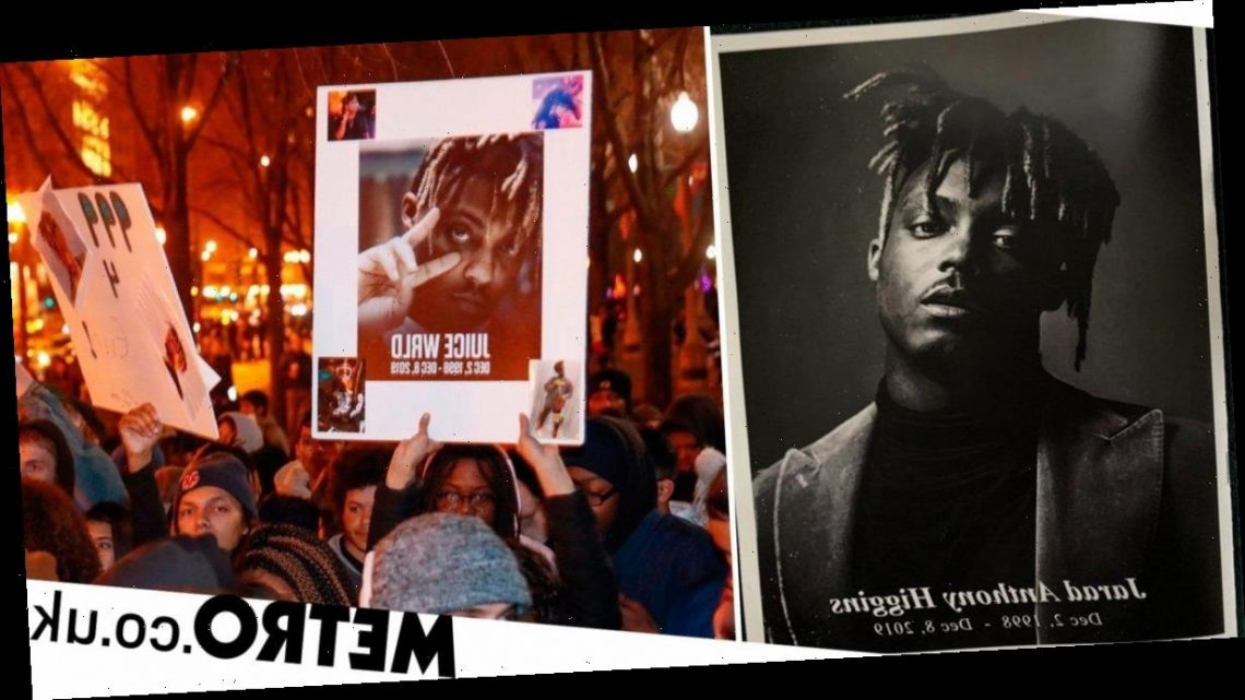 Juice Wrld's funeral attended by friends and family as he's laid to rest