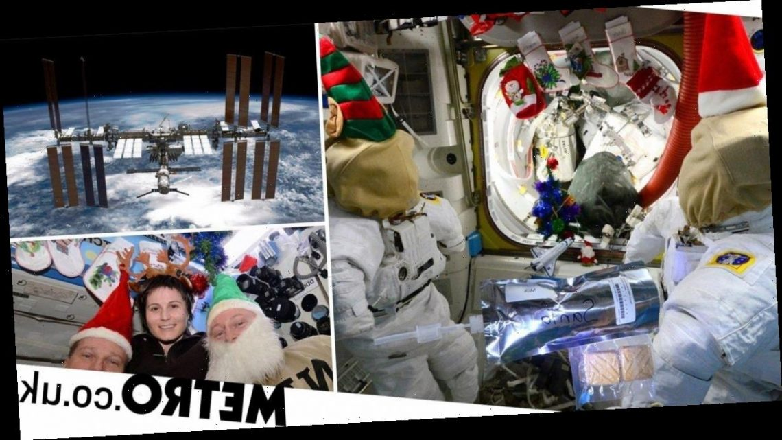 Christmas in Weird Places: Astronaut turned space station into Santa's grotto
