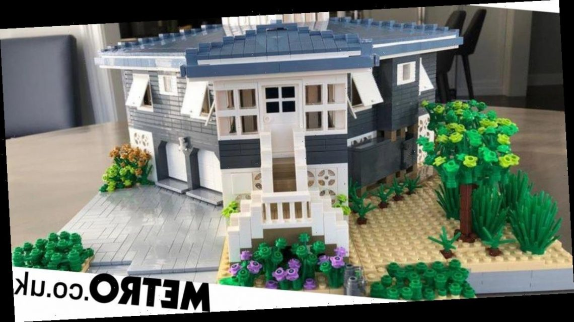 You can get a Lego replica of your house but it doesn't come cheap