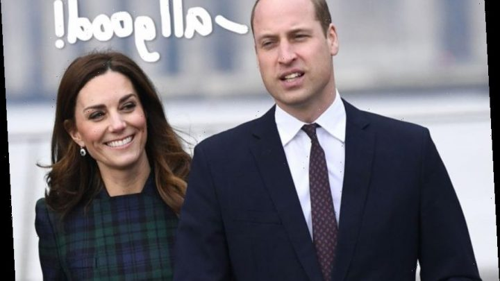 Prince William & Kate Middleton Are A 'Great Double Act' Despite That Awkward PDA Shrug