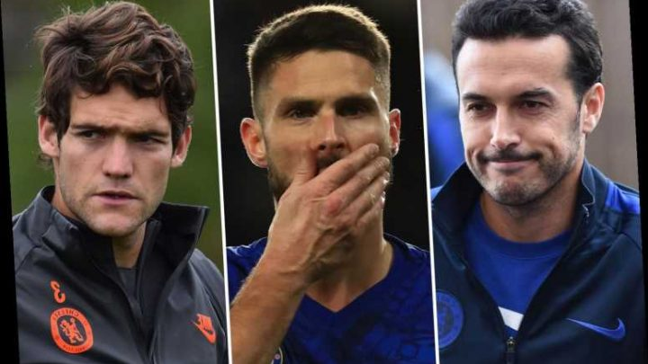 Chelsea plan mass January exodus with Olivier Giroud, Pedro, Alonso and Willian to be scrapped by Lampard – The Sun