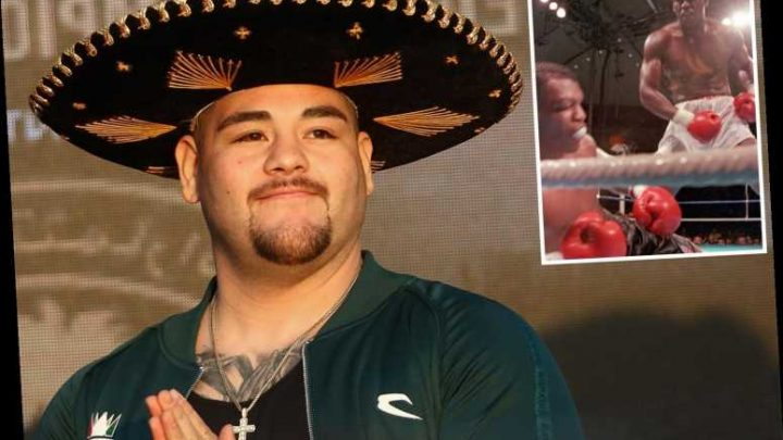 Ruiz weighs in over 20st… but wore a sombrero, jewellery and trainers – so was it all just a trick to fool Joshua? – The Sun