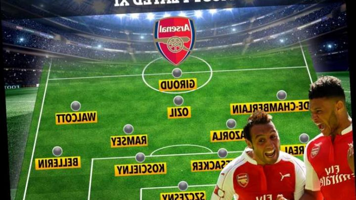 Arsenal's most played XI of the decade revealed including injury riddled Santi Cazorla and Oxlade-Chamberlain – The Sun
