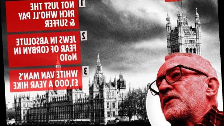 General Election 2019: From soaring taxes to Brexit chaos, experts give damning verdicts on a Jeremy Corbyn led Britain – The Sun
