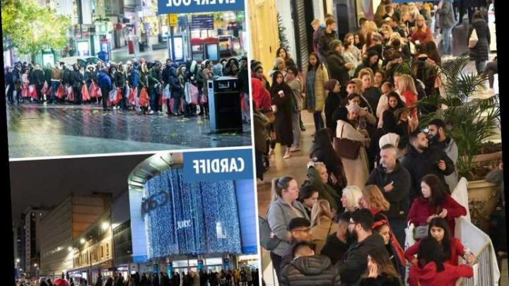 Boxing Day sale – Bargain hunters queue from 5am as shoppers set to spend £4bn