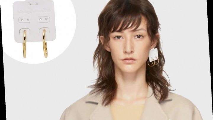 Shoppers are baffled by a £220 single earring which looks like its still in its cardboard packaging