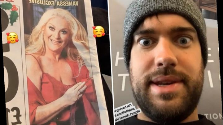 Jack Whitehall lusts after Vanessa Feltz saying he's having 'heart palpitations' over her sexy pics – The Sun