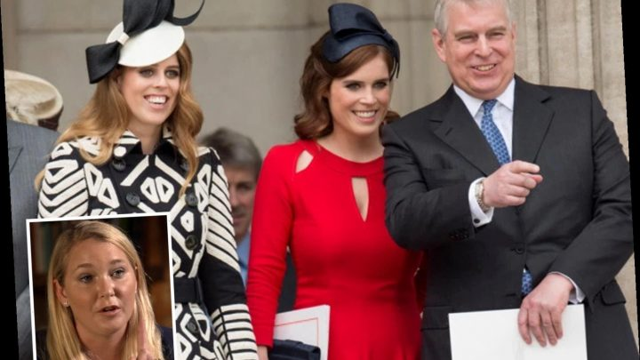 Prince Andrew has put his daughters 'through hell' by 'hanging around known paedos', Virginia Roberts claims
