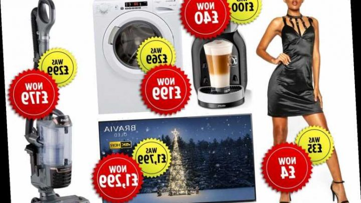 Boxing Day sales start TWO days early with up to 88% off Currys PC World, Boohoo, Very and more