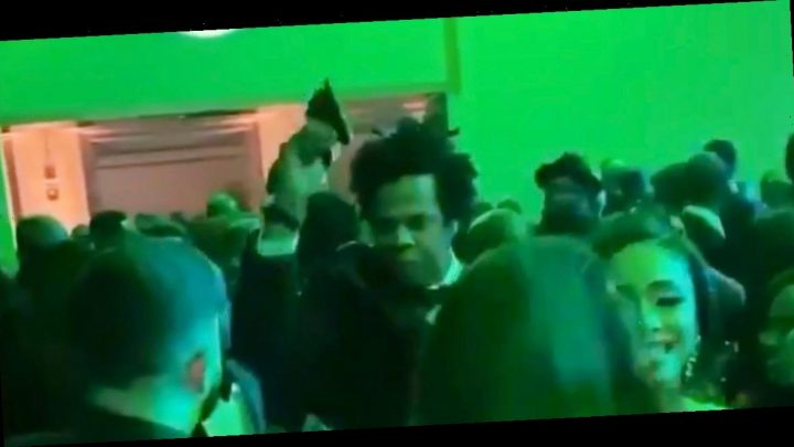 Watch Jay Z Snatch Someone's Phone Who Was Taking Pics of Beyoncé at Diddy's Party