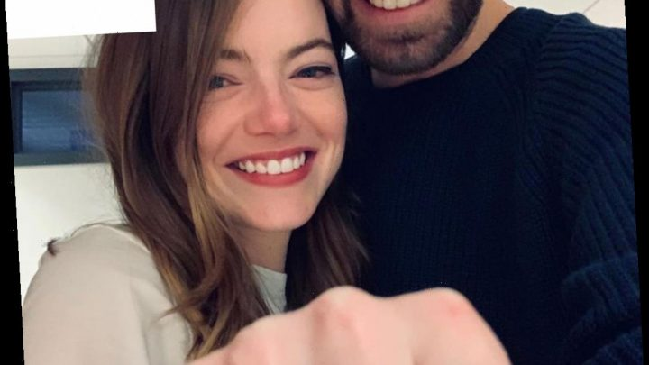 All the Details on Emma Stone's Unique Pearl Engagement Ring from Fiancé Dave McCary