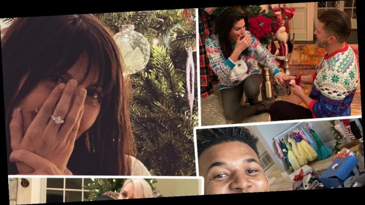 These Four Stars Got an Engagement Ring for Christmas