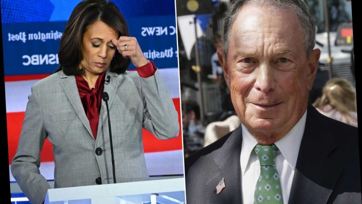 Mike Bloomberg surges past Kamala Harris in Democratic primary poll