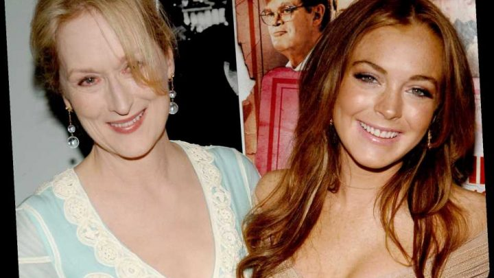 Lindsay Lohan Remembers 'Good Old Times' with Meryl Streep in Throwback Photo