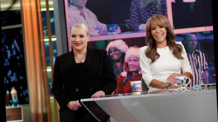 'The View': Sunny Hostin Shuts Down Meghan McCain After She Interrupts Her