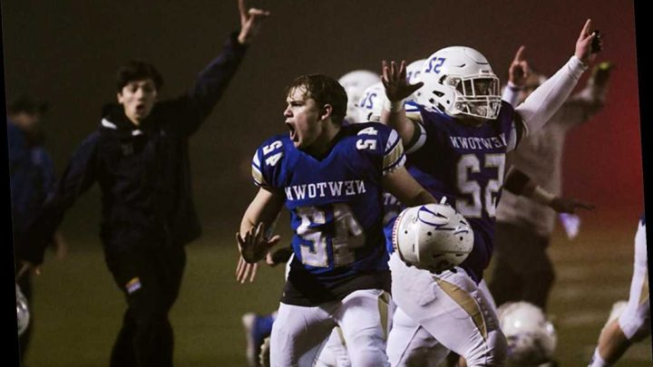 Seven years to the day after Sandy Hook, Newtown cheers historic football victory
